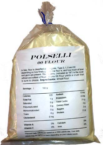 Polselli, Tipo 00 Pizza Flour (3 pound bag)