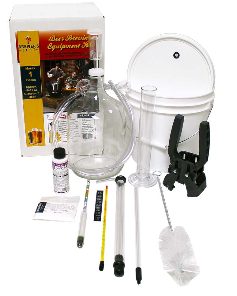 The 1 Gallon Brewer's Best Beer Equipment Kit - Click Image to Close
