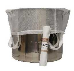"BREW IN A BAG Nylon Straining Bag 24"" X 26"" (with handles)"