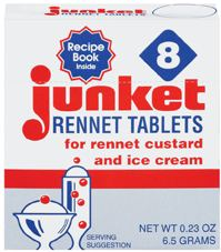 Junket Rennet Tablets with Recipe Book (8 tablets)