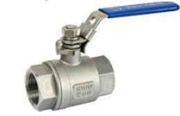 "Stainless Steel Ball Valve 1/2"" FPT"
