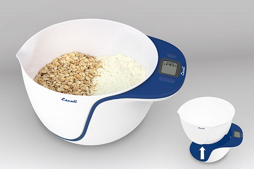 Escali Taso Digital Mixing Bowl 11lb Scale