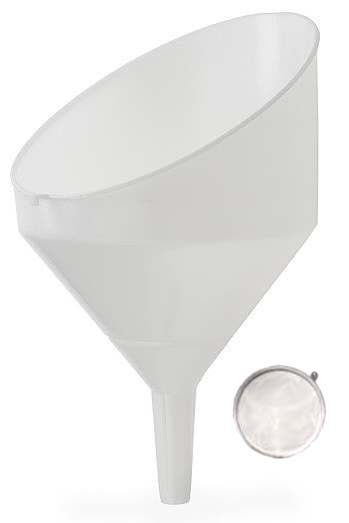 9'' Anti-Splash Funnel with Strainer