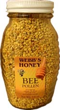 Webbs Central Florida Bee Pollen 14oz