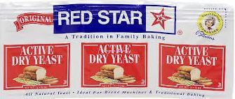 Red Star Active Dry Bread Yeast (3 pack)