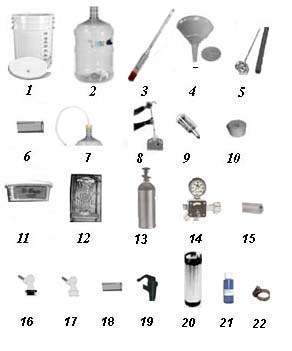 Brew and Keg Kit