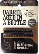 Infusion Oak Bottle Spiral - American Medium Toast