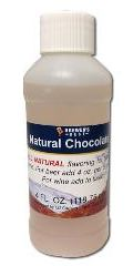Natural Chocolate Flavoring Extract 4 OZ