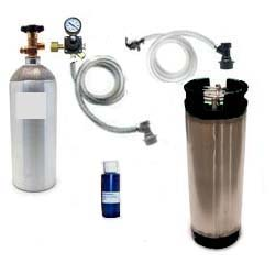 Basic Homebrew CO2 System (used Ball Lock)