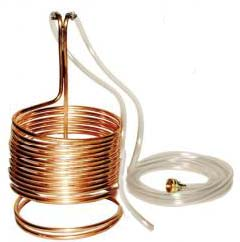 Copper Immersion Wort Chiller 50 ft.