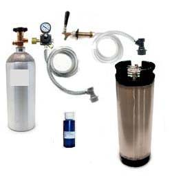 Homebrew Refrigerator CO2 System (Ball Lock)