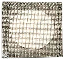 Wire Gauze Square with Ceramic Fiber