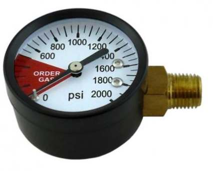 High Side Gauge (0-2000 LHT)
