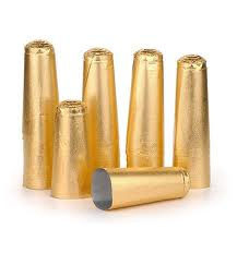 Champagne Foils Gold or Silver (Pack of 100)
