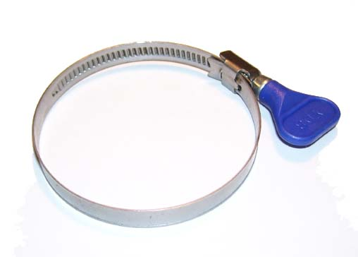 "Easy Turn Hose Clamp (3"" at widest opening)"