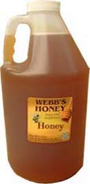 Webbs CentralFlorida Pure & Unfiltered Orange Blossom Honey 12lb