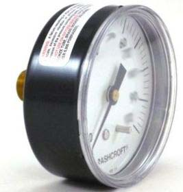 "Mini Low Side Gauge 1/8"" NPT 0-200 psi (RHT)"