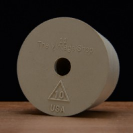 #10 Rubber Stopper Drilled for Airlocks