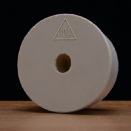#10 1/2 Rubber Stopper Drilled for Airlocks