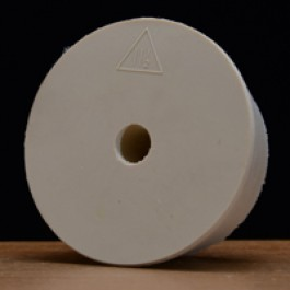 #11 1/2 Rubber Stopper Drilled for Airlocks