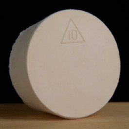 #10 Rubber Stopper (Solid)