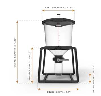The Catalyst Fermentation System (6.5 Gallons)(Closeout)