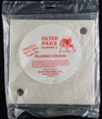 Super Jet Filter Pads #2 Polishing (3 per pack)